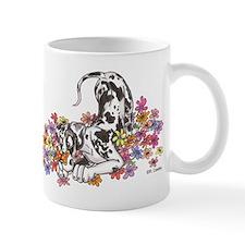 NH Pup In Flowers Mug