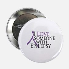 "Love Someone with Epilepsy 2.25"" Button"