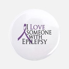 "Love Someone with Epilepsy 3.5"" Button"
