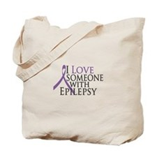 Love Someone with Epilepsy Tote Bag