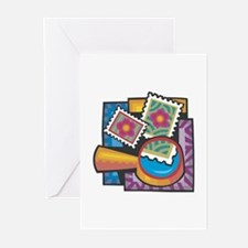 Stamp Collector Greeting Cards (Pk of 10)