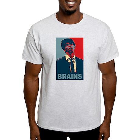 Brains! Zombie Light T-Shirt
