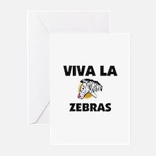 Viva La Zebras Greeting Cards (Pk of 10)