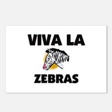Viva La Zebras Postcards (Package of 8)