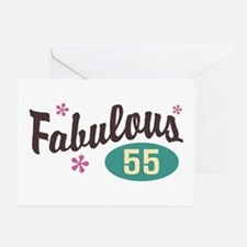 Fabulous 55 Greeting Cards (Pk of 10)