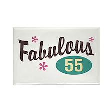 Fabulous 55 Rectangle Magnet