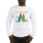 Four Calling Birds Long Sleeve T-Shirt
