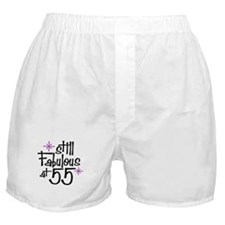 Still Fabulous at 55 Boxer Shorts