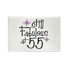 Still Fabulous at 55 Rectangle Magnet