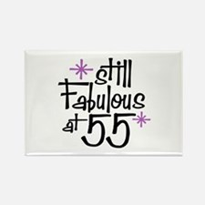 Still Fabulous at 55 Rectangle Magnet