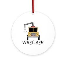 Wrecker Ornament (Round)