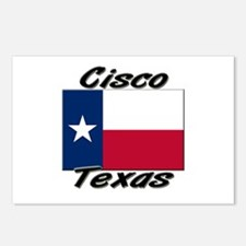 Cisco Texas Postcards (Package of 8)