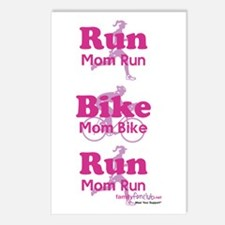 Duathlon Mom Postcards (Package of 8)