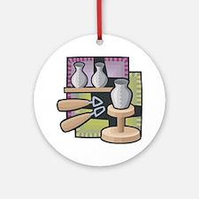 Potter Ornament (Round)