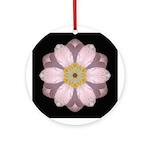 Lavender Pink Peony II Ornament (Round)