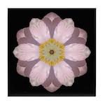 Lavender Pink Peony II Tile Coaster