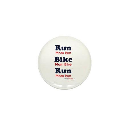 Duathlon Mom Mini Button (10 pack)