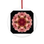 Iris Germanica I Ornament (Round)