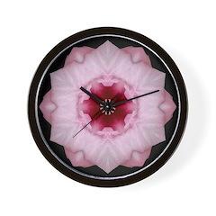 Hibiscus I Wall Clock