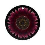 Sunflower Moulin Rouge I Ornament (Round)