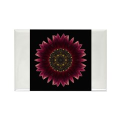 Sunflower Moulin Rouge I Rectangle Magnet