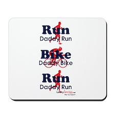 Duathlon Dad Mousepad