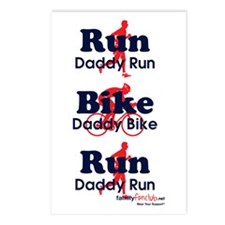 Duathlon Dad Postcards (Package of 8)