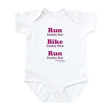 Duathlon Dad Infant Bodysuit