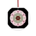 Hibiscus Moscheutos I Ornament (Round)