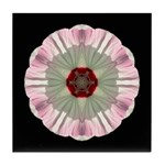 Hibiscus Moscheutos I Tile Coaster