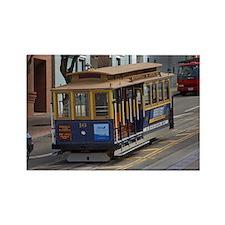 san fran trolley Rectangle Magnet