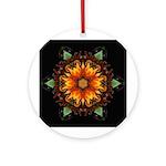 Gazania III Ornament (Round)