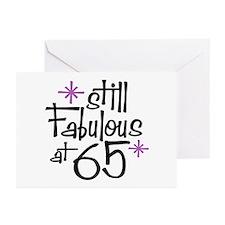 Still Fabulous at 65 Greeting Cards (Pk of 10)
