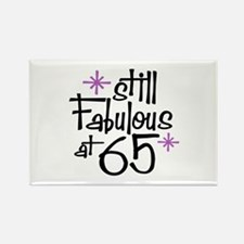 Still Fabulous at 65 Rectangle Magnet