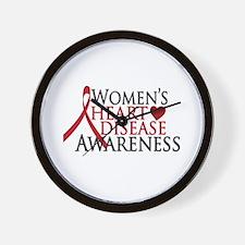 Women's Heart Disease Wall Clock