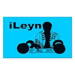 iLeyn Rectangle Sticker