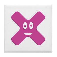 smiling x Tile Coaster