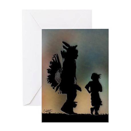 Teach The Children - Greeting Card