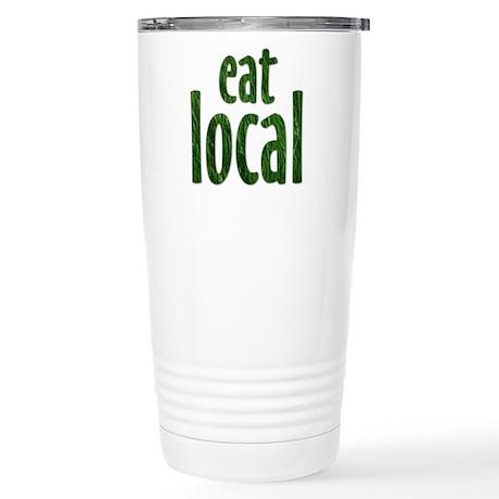 Eat Local - Stainless Steel Travel Mug