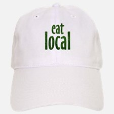 Eat Local - Baseball Baseball Cap