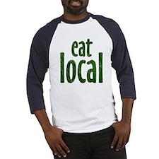 Eat Local - Baseball Jersey
