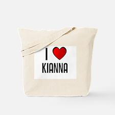 I LOVE KIANNA Tote Bag