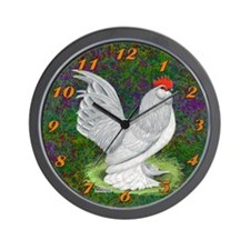 D'Uccle Rooster Wall Clock