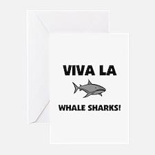 Viva La Whale Sharks Greeting Cards (Pk of 10)