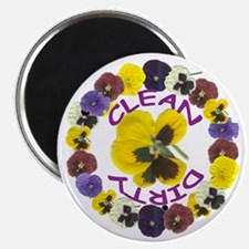 Pansy Ring Dishwasher Magnet Magnets