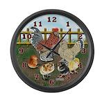 Bantam Family Large Wall Clock