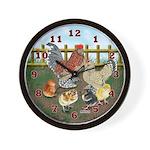 Bantam Family Wall Clock