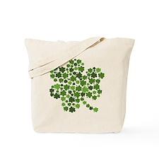 Shamrocks in a Shamrock Tote Bag