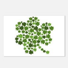 Shamrocks in a Shamrock Postcards (Package of 8)
