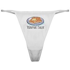 Waffle Slut Classic Thong